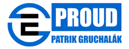 e-proud.cz – Patrik Gruchalák Logo